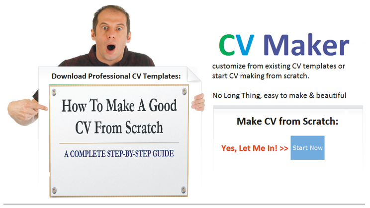 how to make a cv from scratch